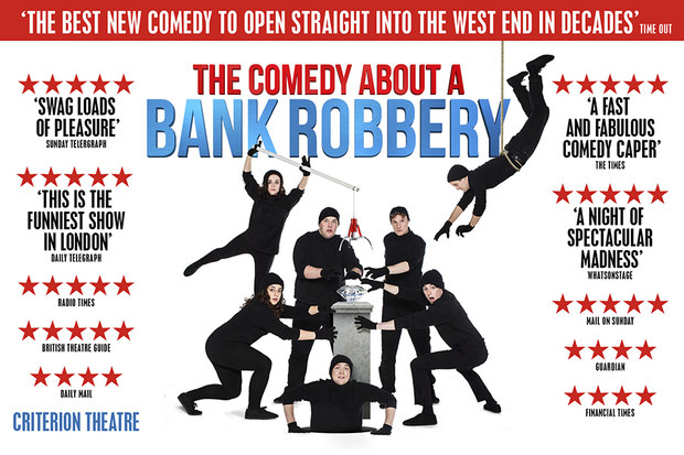 The Bank Robbery musical London