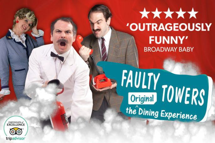 FAULTY TOWERS, THE DINING EXPERIENCE PÅ RADISSON BLU EDWARDIAN HOTEL