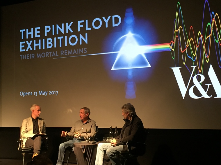 Pink Floyd Exhibition på V&A i London