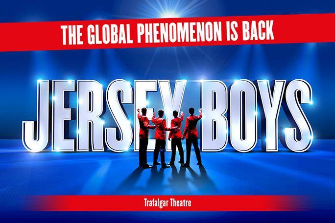 Jersey Boys på Trafalgar Theatre London
