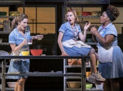 Waitress musical London